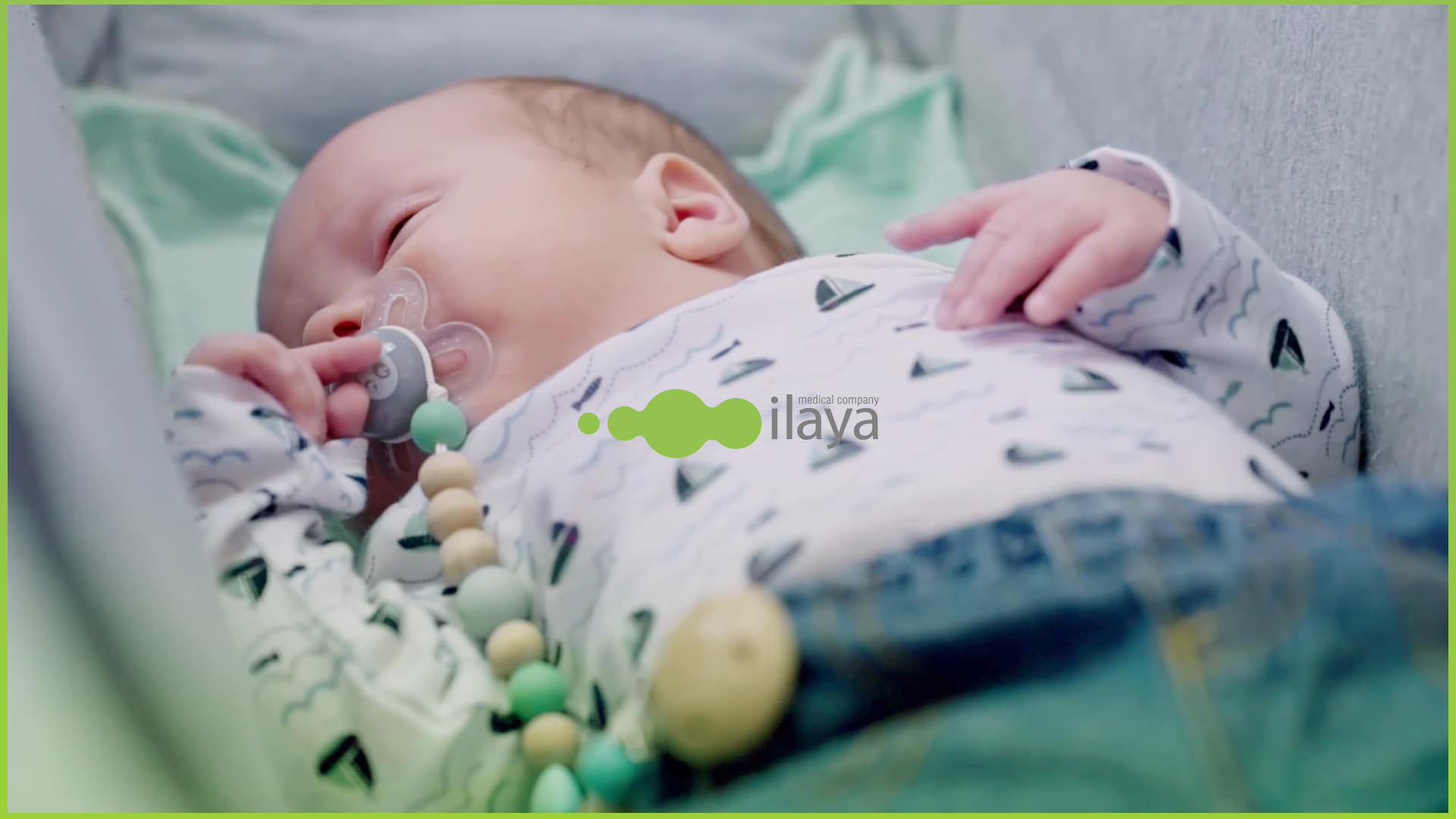 Baby born through ilaya Fertility Clinic