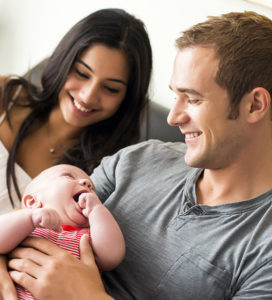 Family created by Ukraine Surrogacy