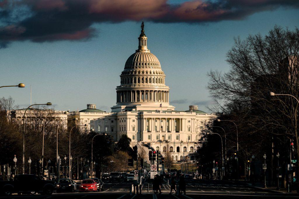 Amerikanische Leihmutterschaft - US-Kapitol-Gebäude, Washington DC