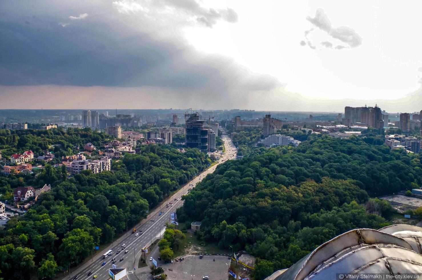 Stadt der Ukraine