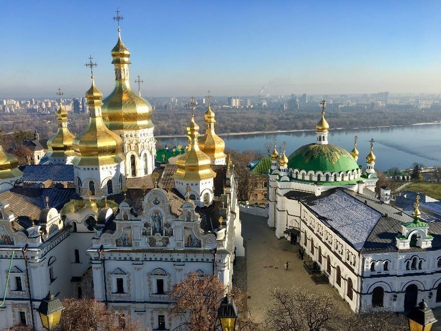 Sehenswürdigkeiten in Kiew - Kiewer Höhlenkloster