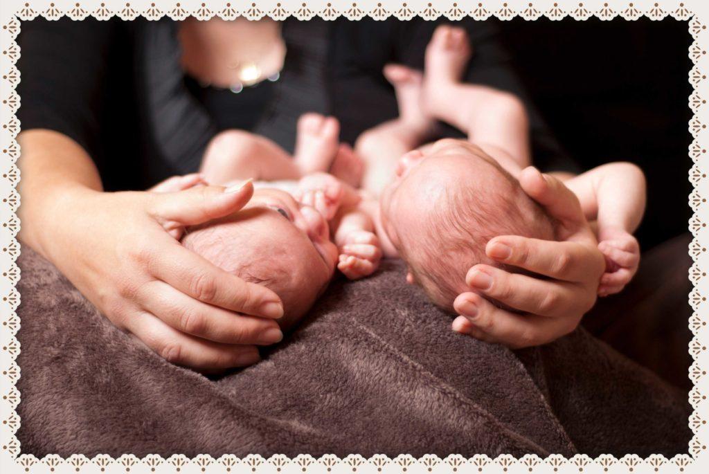 Bebés de Noviembre - gemelas